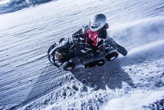 Ледовые гонки на картах все выходные!