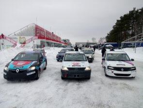 Итоги двухдневных соревнований по ледовым гонкам