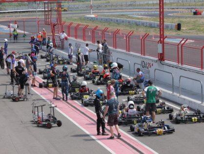 Итоги 3-го этапа Кубка РАФ по картингу Rotax Max